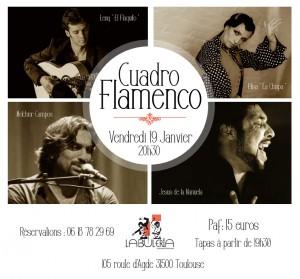 FLY 19 JANVIER Cuadro Flamenco La Chispa 2
