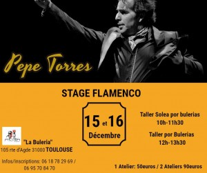 stage pepe Torres