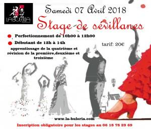 stage sevillanes 2018