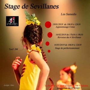 stage sevillanes debutant 2018