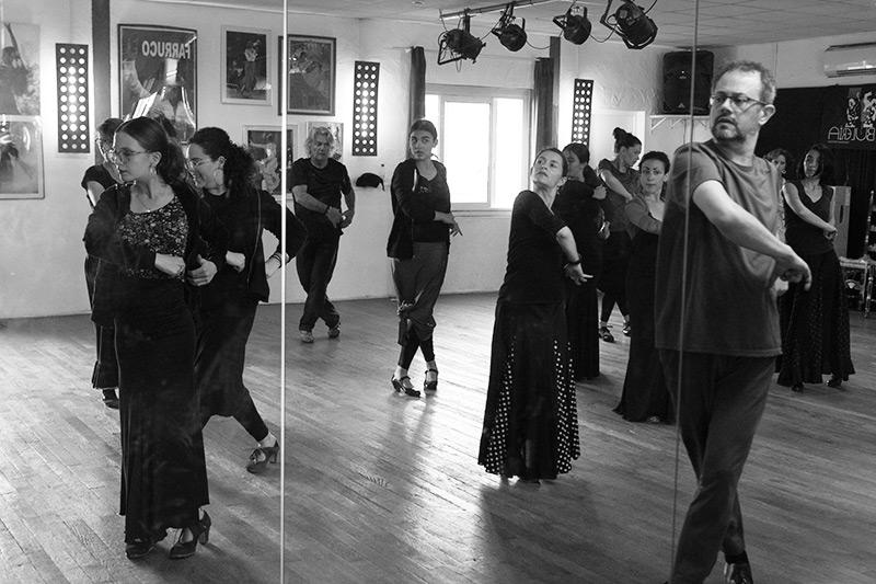 Cours de flamenco pour tous les âges