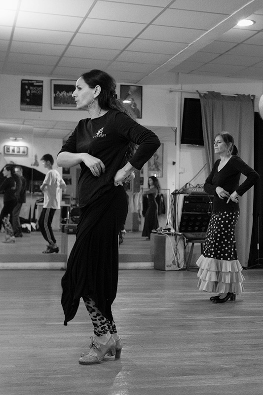 Cours de flamenco avec Vanessa Domiati