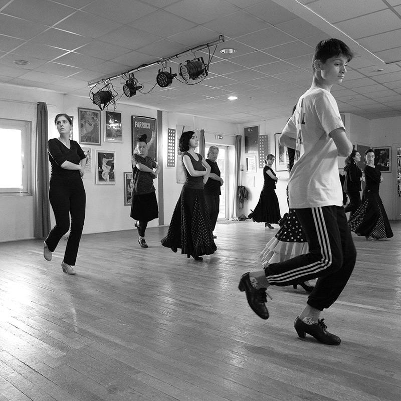 Cours de flamenco femmes et hommes